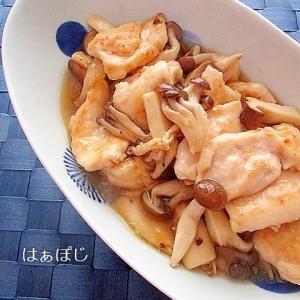 ご飯にあう♪鷄むね肉ときのこの中華風うま煮