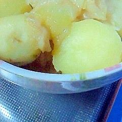 圧力鍋ですぐに出来る ジャガイモとタマネギの煮物