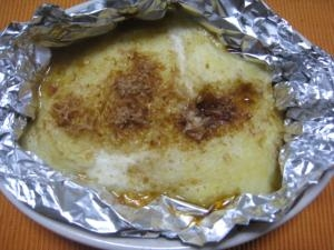 断水の策 山芋のオーブン焼き