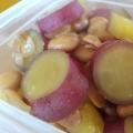 サツマイモと大豆の混ぜご飯