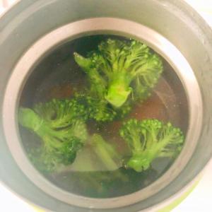 ブロッコリーと春雨のスープ