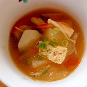 里芋・とうがん入り☆具だくさん味噌汁