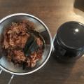 カツオと昆布のだしがらで作る佃煮