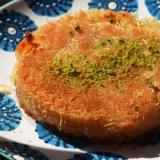 トルコのお菓子★モッツアレラチーズでキュネフェ