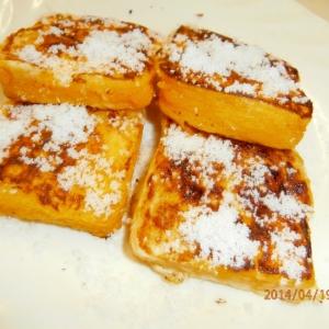 誰でも簡単に作れるフレンチトースト
