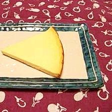 フライパンでカロリーオフチーズケーキ
