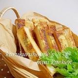 食パンで簡単おいしい☆マヨガーリックトースト
