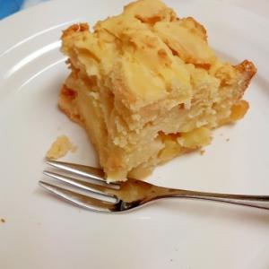 簡単!リンゴとシナモンのふわふわ米粉ケーキ♪