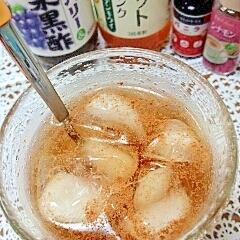 水出し紅茶で☆シナモンバニラフレーバーティー♪