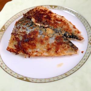 塩鯖のマヨネーズパン粉焼き