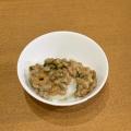 ネギとコチュジャンの納豆