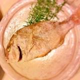 お食い初めに☆ハーブ詰め鯛のオーブン焼き