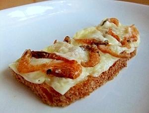 海老チーズ・トースト