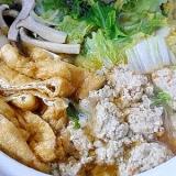 レンコン鶏団子
