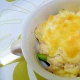 アボカドとブロッコリーの明太豆腐ソース焼き++