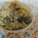 カキと里芋の生姜ご飯