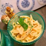 セロリと卵のサラダスパゲティ