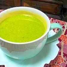 ミキサーで皮ごとかぼちゃのスープ
