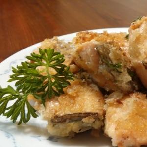 お手軽♪秋鮭のマヨネーズパン粉焼き(^^)