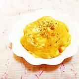 薄焼き卵のっけ♪玉葱入りまんまるオムパン