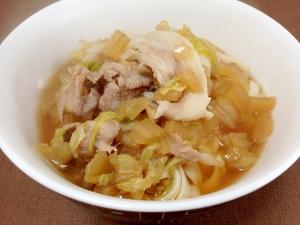 めんつゆで簡単☆豚肉と白菜のうどん
