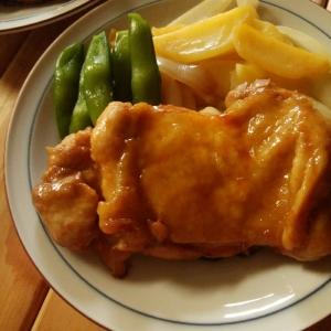 鶏もも肉のさっぱり照り焼き