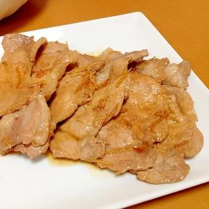 パパの生姜焼き(≧∇≦)