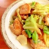 フライパン一つで♪キャベツと鷄むね肉の中華風炒め