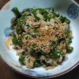 作り置き料理:野菜/ピーマンとじゃこの炒め煮