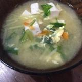 水菜のお味噌汁