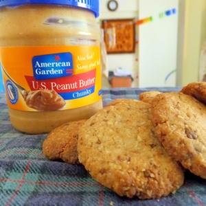 ピーナツバタークッキーココナッツ風味