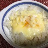鶏そぼろリメイク★親子チーズご飯★