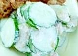 キューリとツナのマヨネーズサラダ