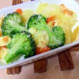 野菜のオーブン焼きチーズのせ