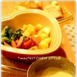 お家でも簡単☆子どもと野菜たっぷりチーズフォンデュ