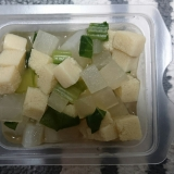 栄養離乳食♪大根と小松菜と高野豆腐の煮物