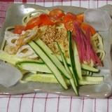 かんたん冷麺 ★ (冷やし中華)