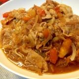 糖質制限☆トマト入り豚肉の生姜焼き