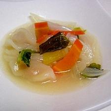 コンソメで!簡単洋風スープ餃子