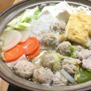 美味しい鶏肉団子入り♡ちゃんこ鍋