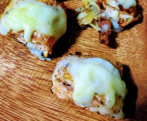 チーズ消費☆鮭(ハラス)のムニエル☆とろーりチーズ