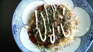 豆腐のお好み焼き