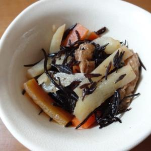 お弁当にも!菊芋入りひじき煮