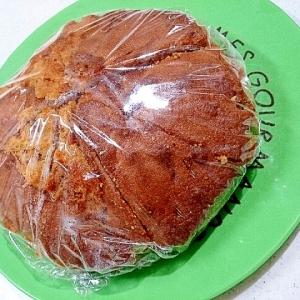 HMでキャラメル風味のケーキ(ノンフライヤー)