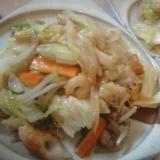 故郷の味☆簡単☆野菜たっぷり皿うどん