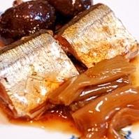 圧力鍋で、とろとろ秋刀魚ととろとろ葱