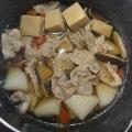 豚肉と大根と高野豆腐の煮物☆