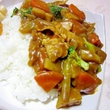 季節の野菜☆ポークカレー