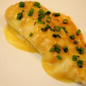 フライパンで♪真鱈のゴマ味噌チーズ焼き