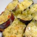 トロトロ茄子の。。味噌チーズ焼き♪